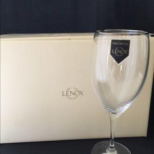 Lenox Lead Crystal All-Purpose Glasses NWT